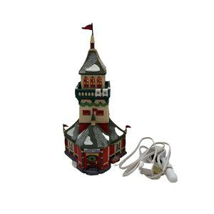 DEPT 56 North Pole Series  SANTA'S LOOKOUT TOWER